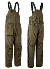 Deerhunter Rusky Silent Bib Trousers in Peat