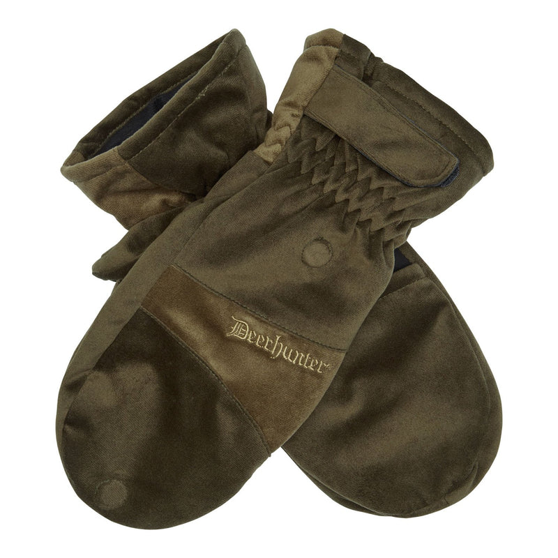 Deerhunter Rusky Silent Mittens with fold over finger cover