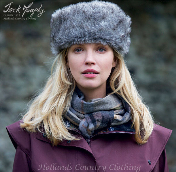 Jack Murphy Gabriella Faux Fur Hat – Hollands Country Clothing 3b35379cc55