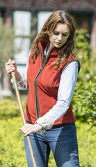 gardening Baleno Sally Ladies Fleece Gilet brick