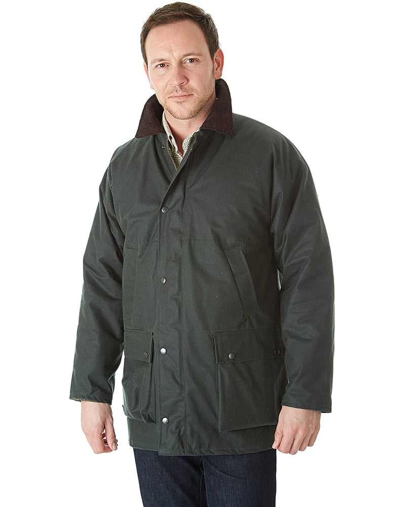 Sherwood Forest Classic Padded Wax Jacket