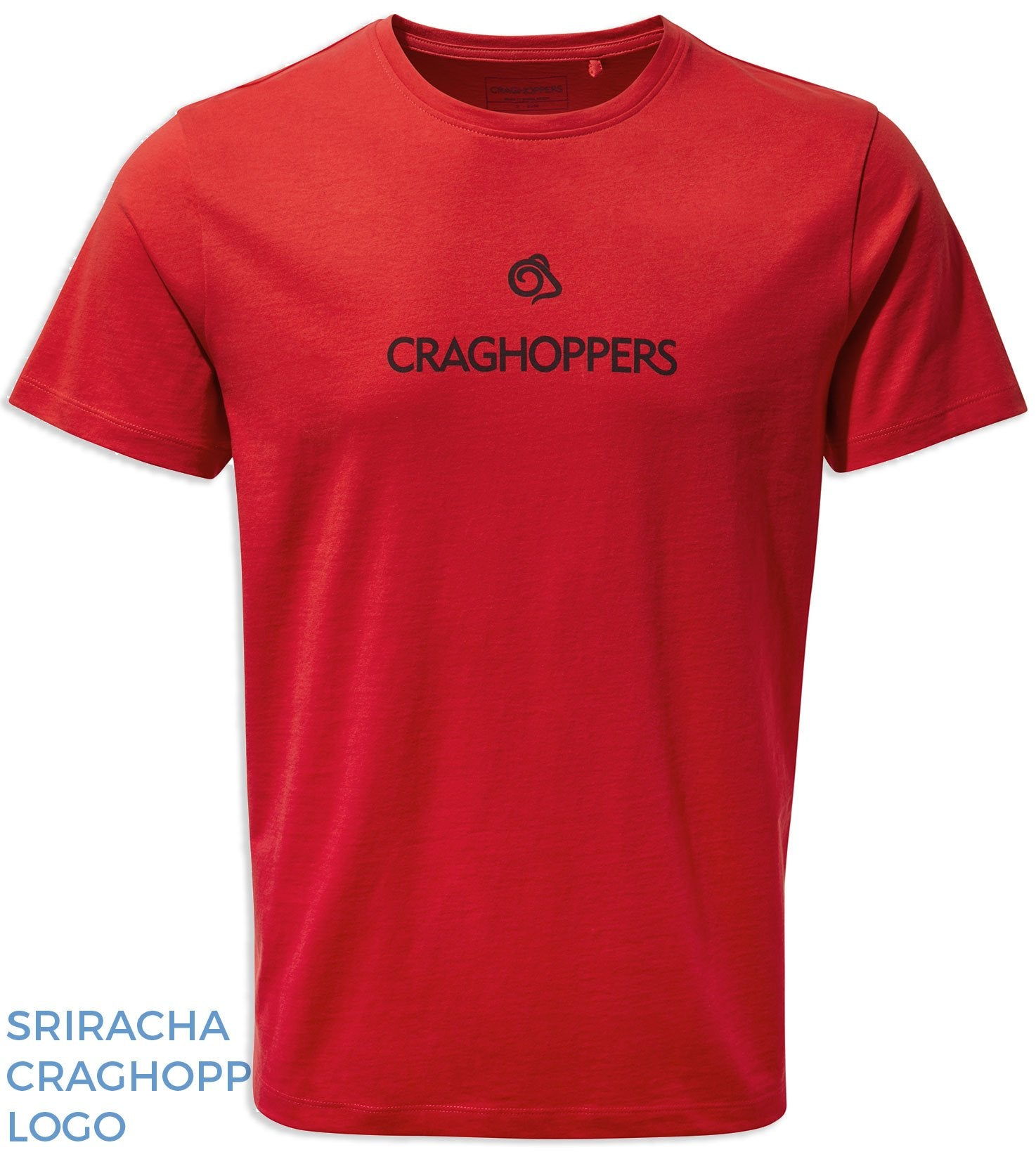 Sriracha REd Craghoppers Nelson T-shirt