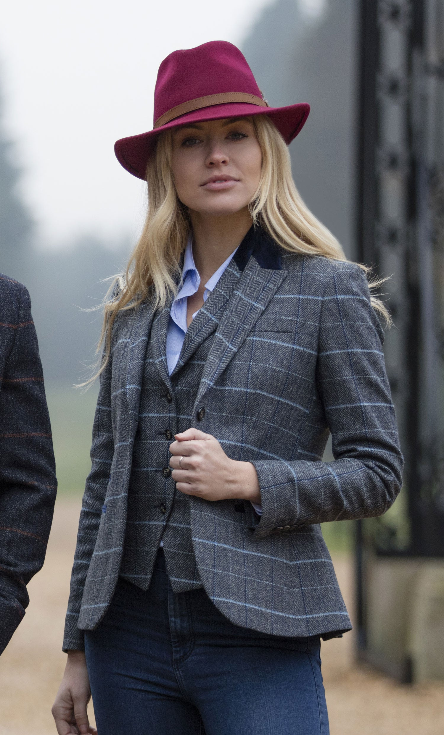 Surrey Tweed traditional Waistcoat by Alan Paine