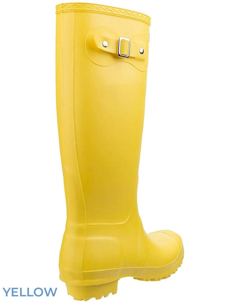 Yellow welly