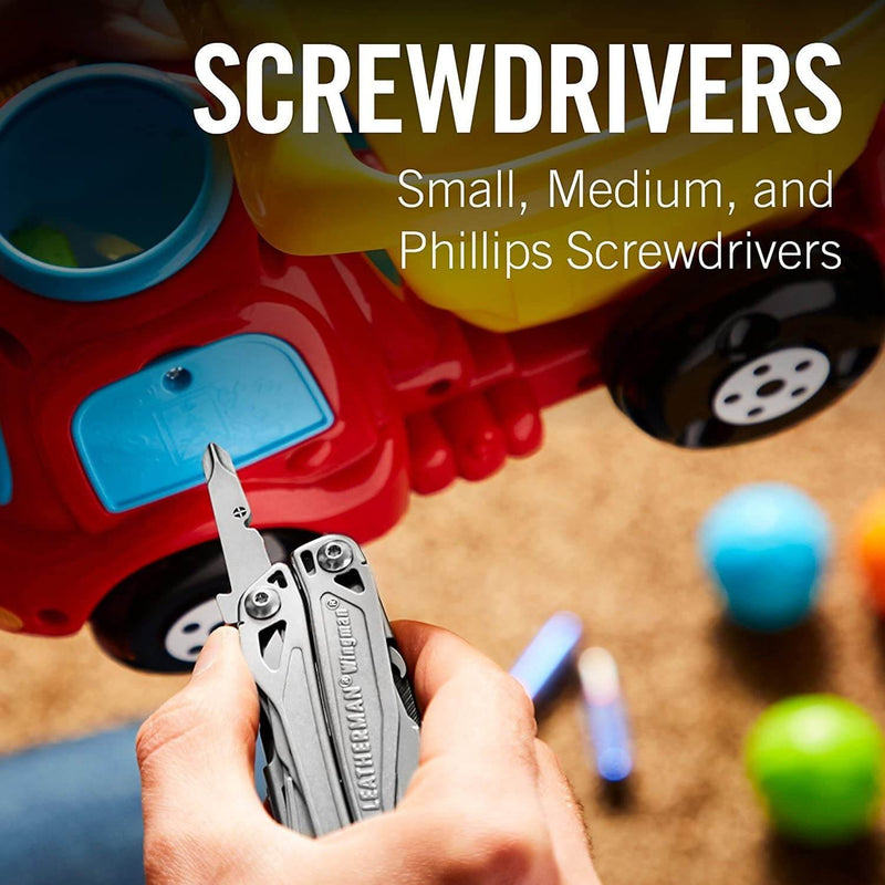 Screwdrivers, small, medium, phillips heads