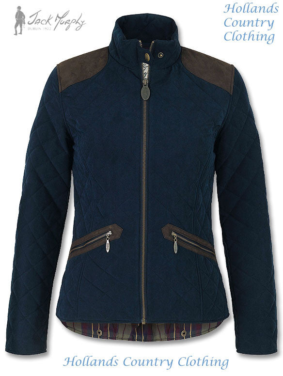 Jack Murphy Selena Ladies Quilted Jacket for riding