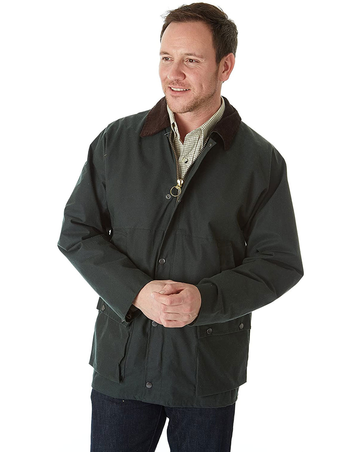 "Sherwood Forest Short 31"" Wax Jacket"