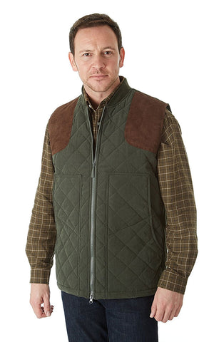 Sherwood Edinburgh Men's Country Sports Waistcoat with lots of pockets