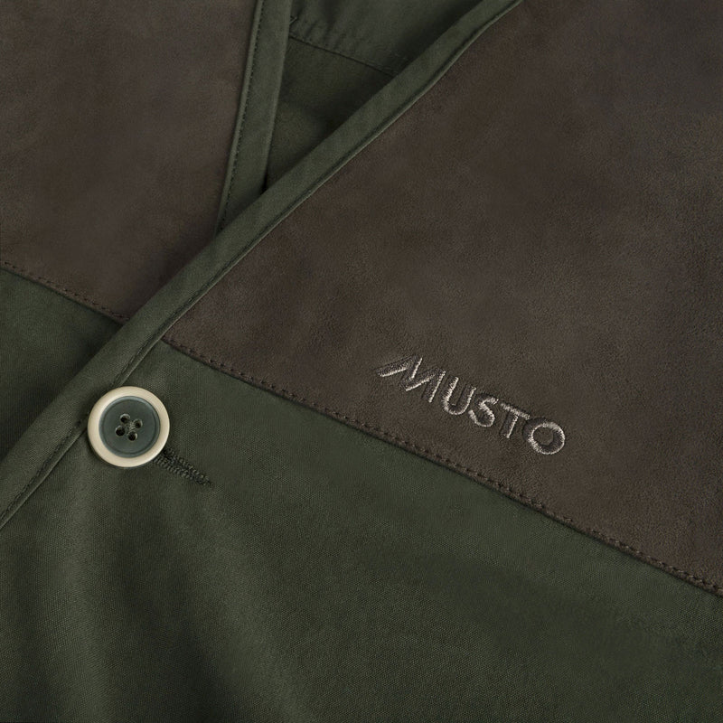 Musto Suede shoulder patches
