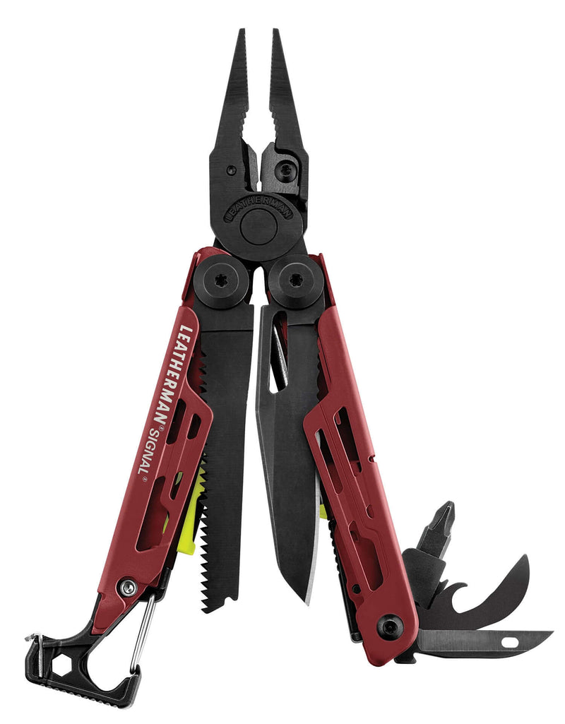 Leatherman Signal®+ Multi-Tool Crimson - Red Cerakote