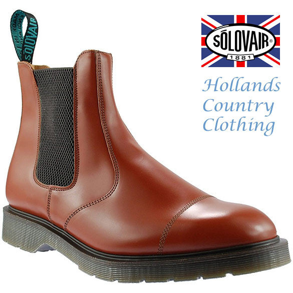 Solovair Cushion Sole Dealer Boots Hollands Country Clothing
