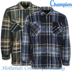 Champion Stirling Lumberjack Fleece Jacket