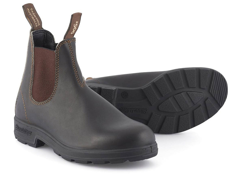 Upper and sole, Original 500 Series Leather Boots by Blundstone