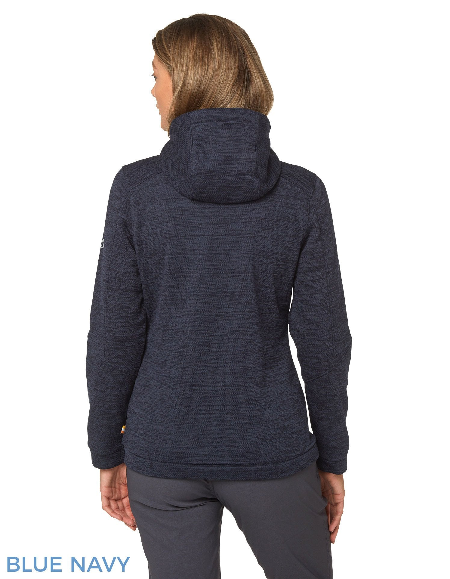 Back view Strata Fleece Hoody by Craghoppers