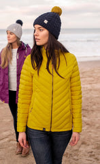 Sunrise Yellow Lighthouse Lara Down Jacket