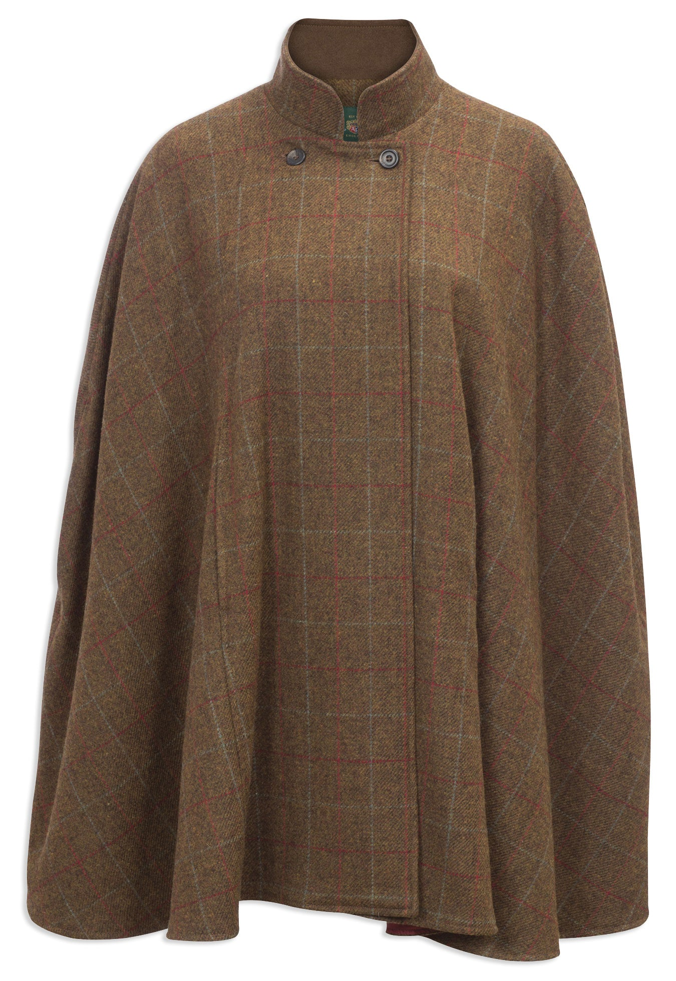 Alan Paine Surrey Tweed Cape | Orchard & Hazel