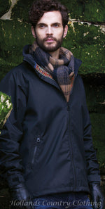 man wearing Jack Murphy Tanley Men's Waterproof Jacket