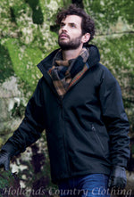 Jack Murphy Tanley Men's Waterproof Jacket with big scarf