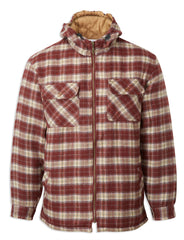 Lumberjack Castle Penarth Sherpa Fleece Lined Tartan Hoodie