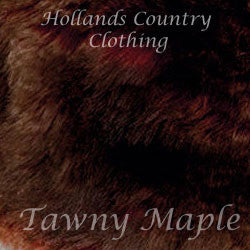 tawny maple faux fur jack murphy