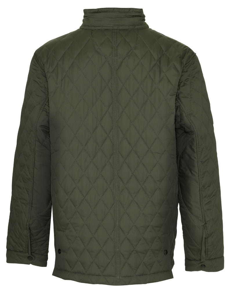 back view Champion Padstow Diamond Quilted Jacket