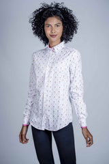 Hartwell Layla Cotton Shirt | Thistle