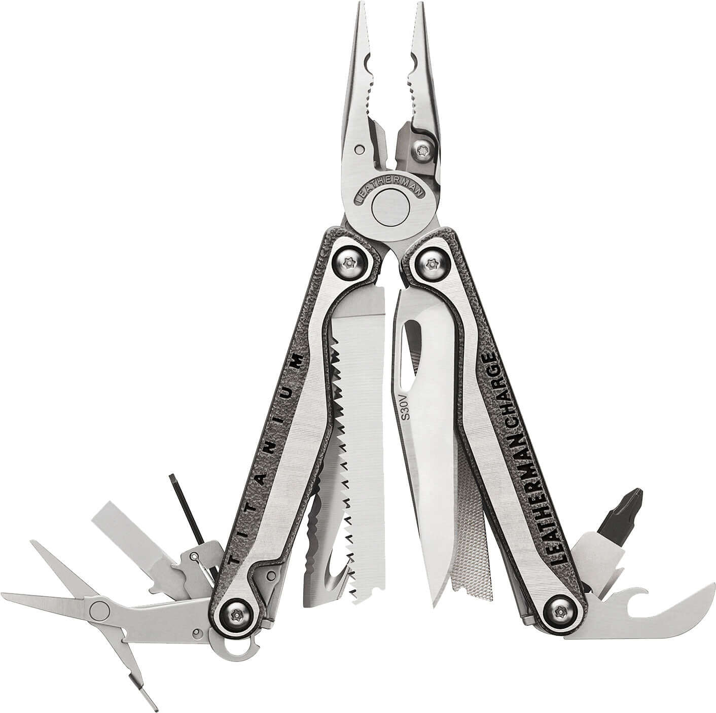 Leatherman Charge®+ TTi Stainless Steel Multi-Tool W/ Nylon Sheath