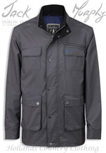 Grey Jack Murphy Tod Men's Waterproof Utility Jacket
