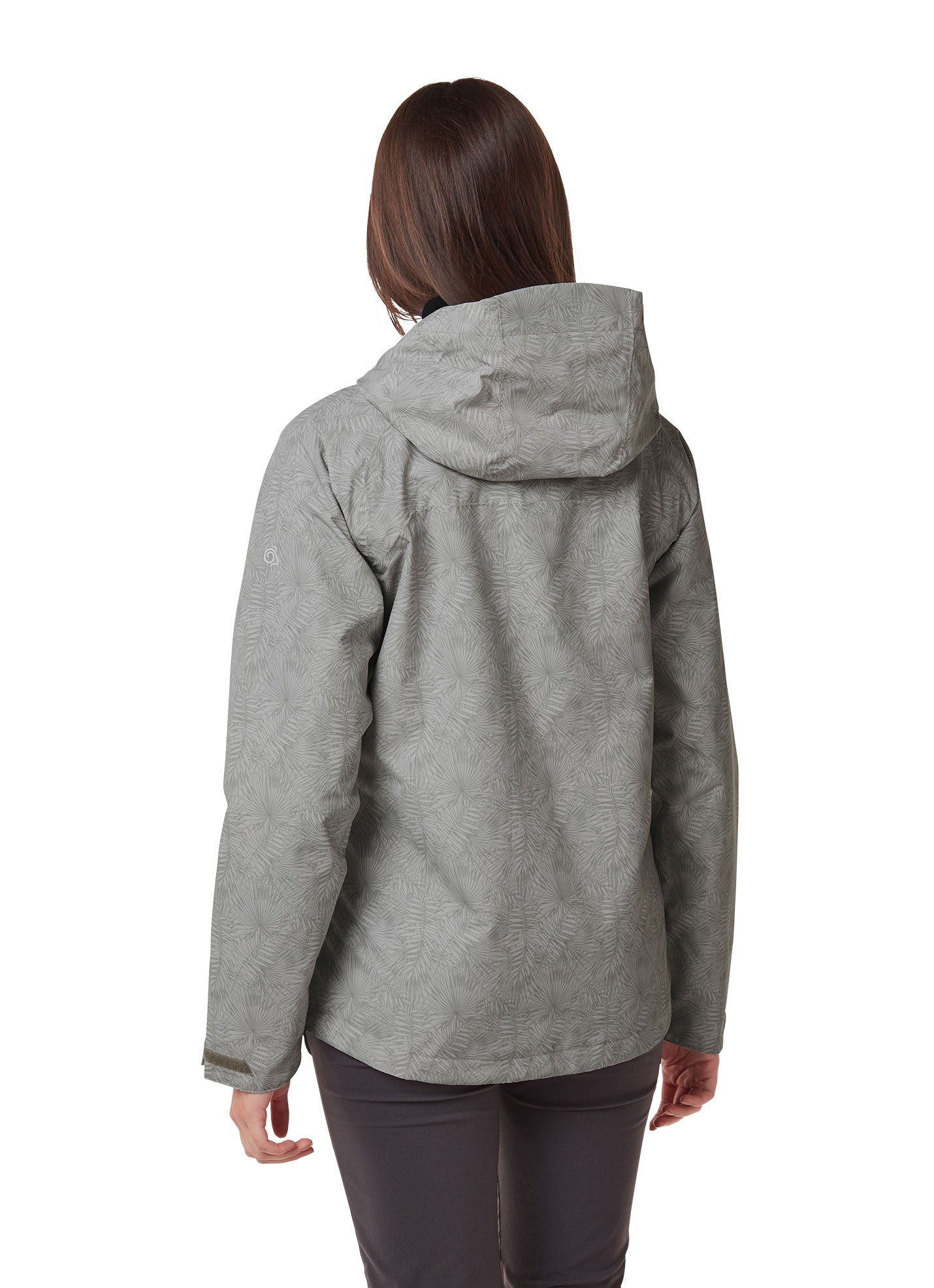 Back View grey Toscana Ladies Jacket by Craghoppers