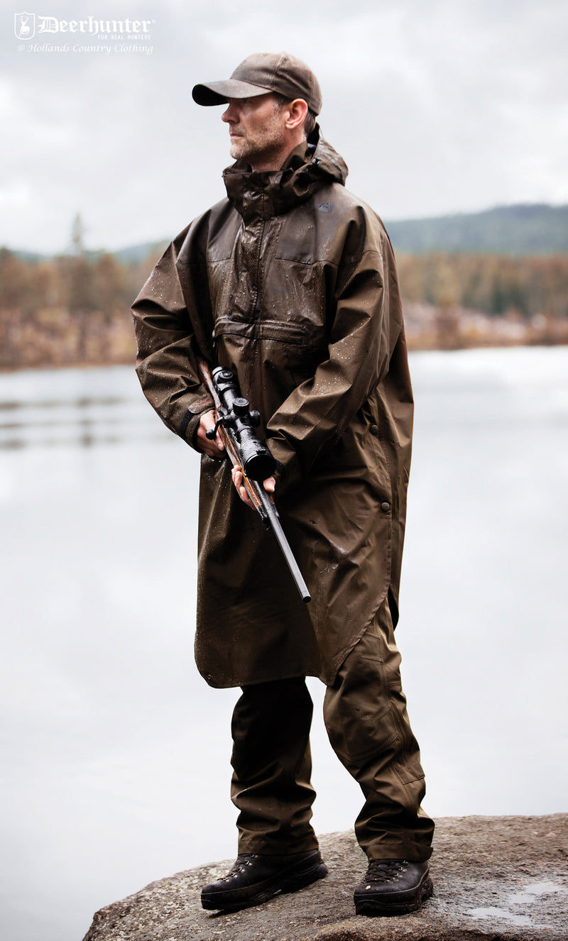 Shooting coverall Track Waterproof Anorak by Deerhunter
