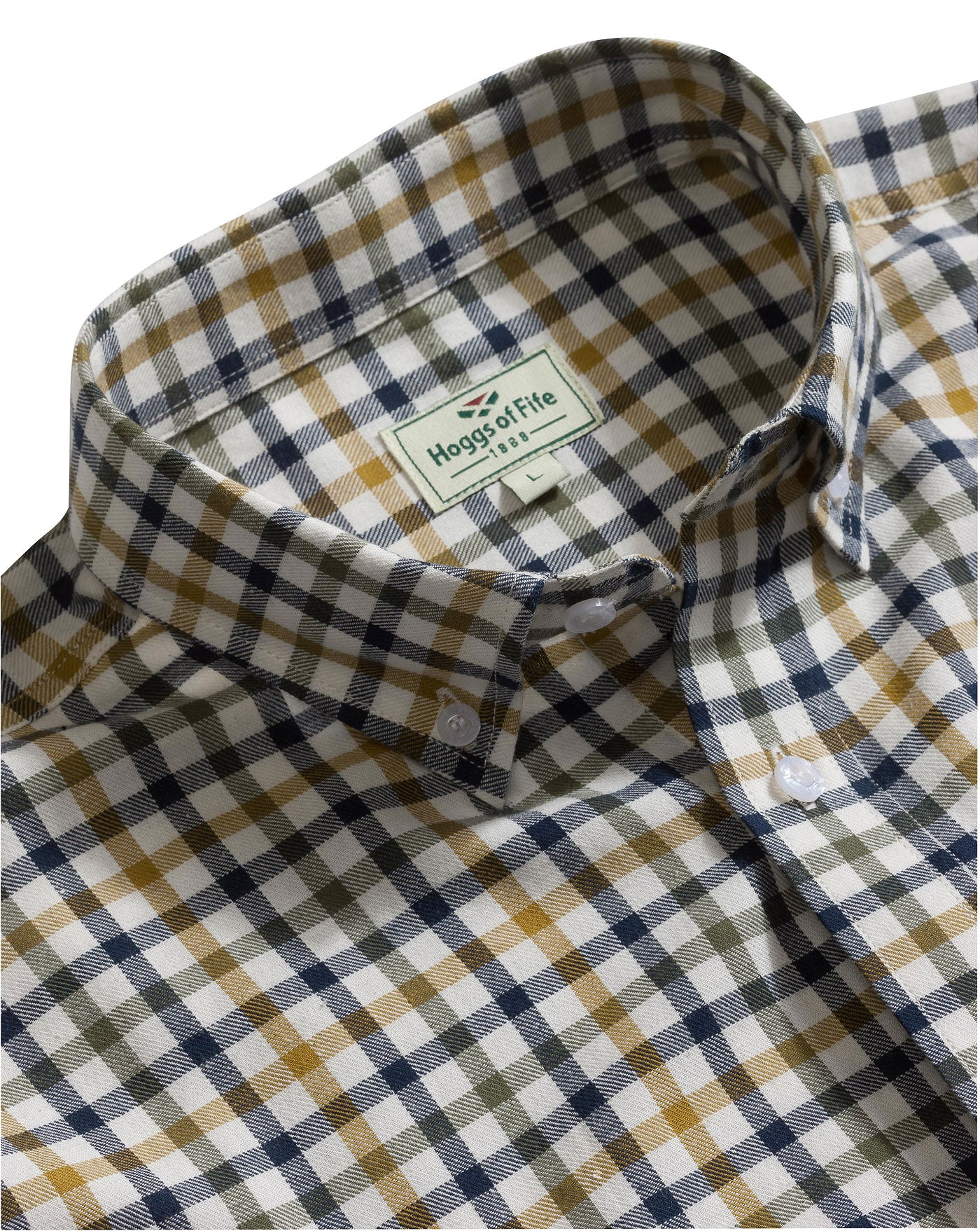 Hoggs of Fife Trevose Cotton Short Sleeve Shirt CHECK