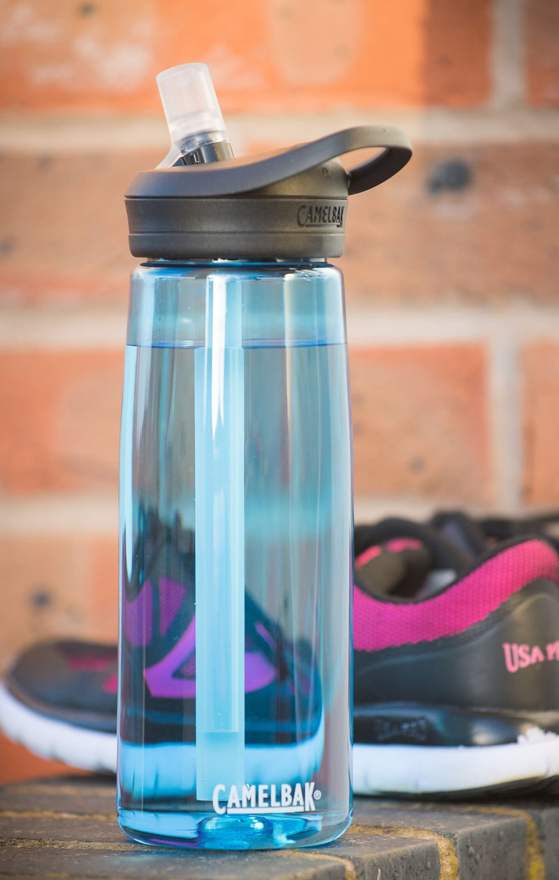 True Blue Eddy+ CamelBak Drinking Bottle