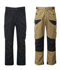 Castle Tuffstuff Elite Work Trousers | Black, Sand