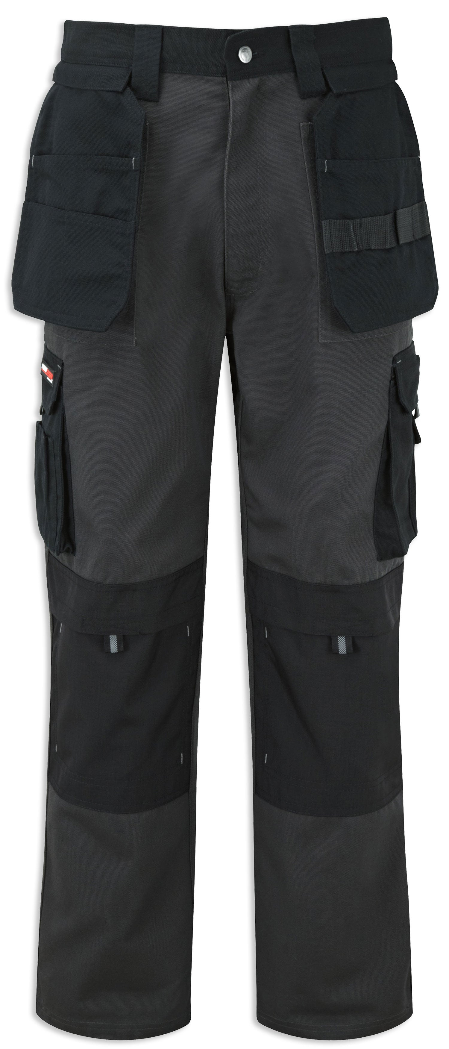 Grey Black Castle Tuffstuff Extreme Work Trousers