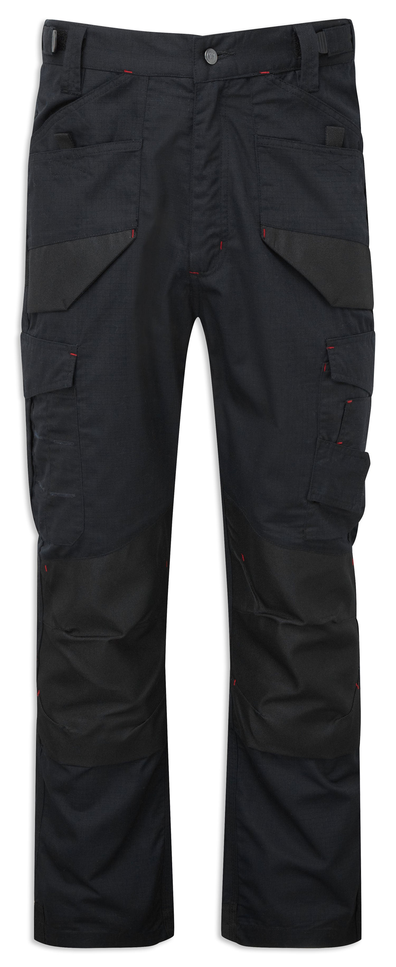 Black Ripstop Castle Tuffstuff Elite Work Trousers