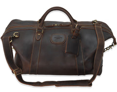 with strap The Alexander Ultra Soft Leather Holdall by Val Blanco