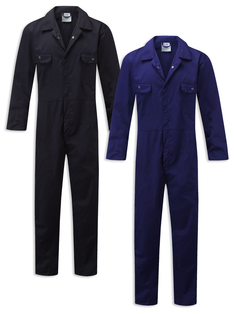 Castle Workforce Economy Boilersuit | Navy, Royal Blue
