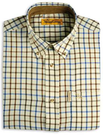 Verney Carron Villemy Tattersall Check Shirt