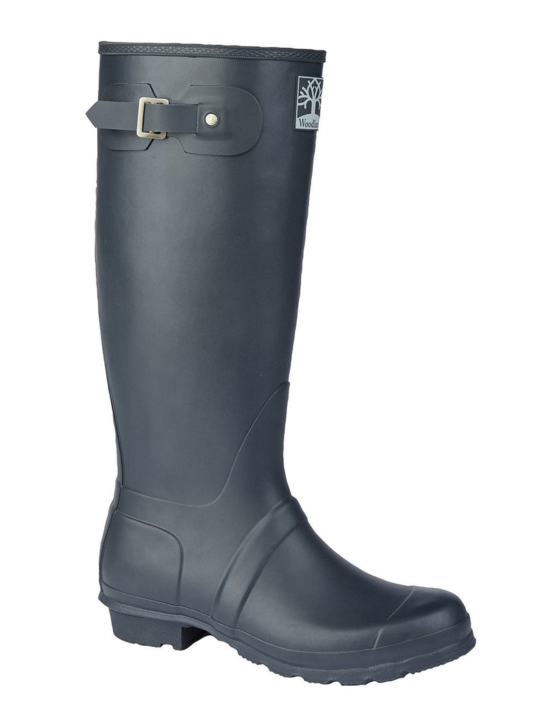 Woodland Rubber Wellingtons - Navy