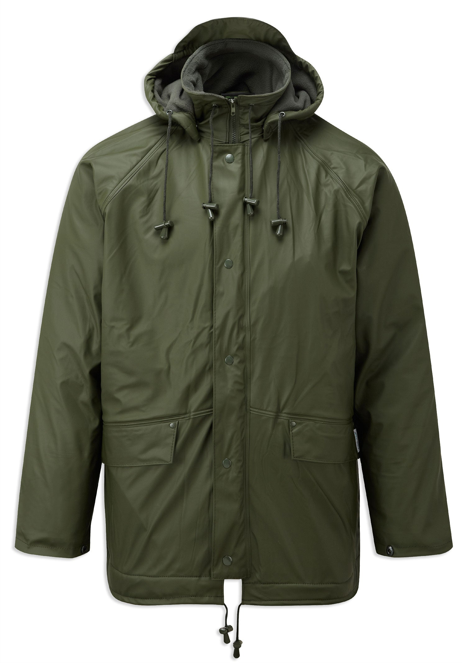 FLEX Fleece Lined waterproof jacket GREEN Fortexfleece 219