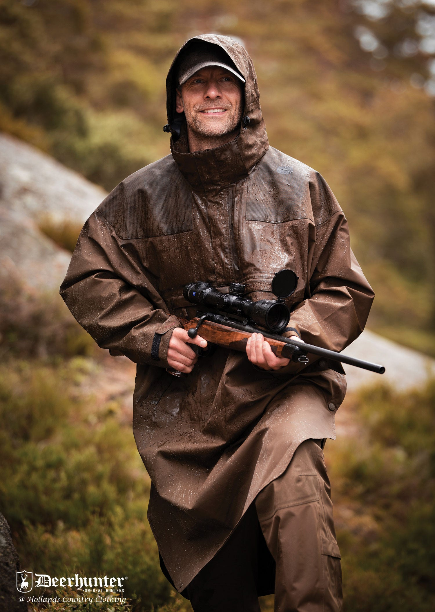 Hunting wear Track Waterproof Anorak by Deerhunter