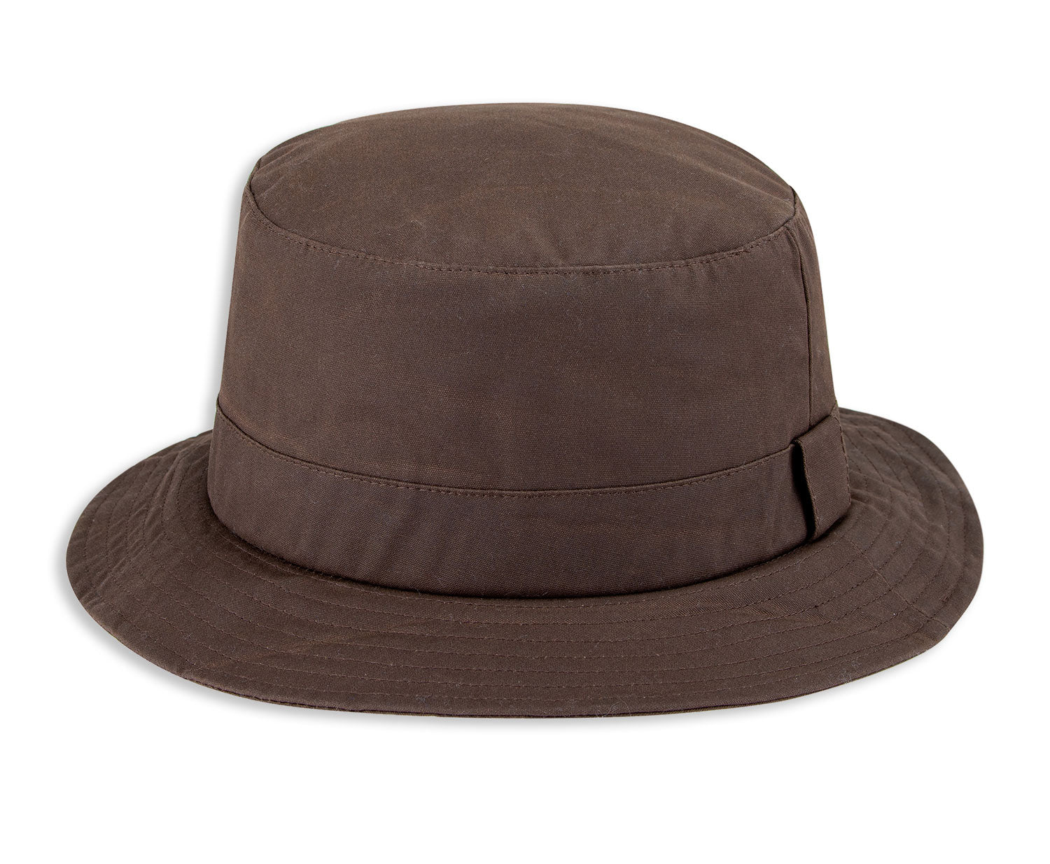 Brown Hoggs of Fife Waxed Bush Hat