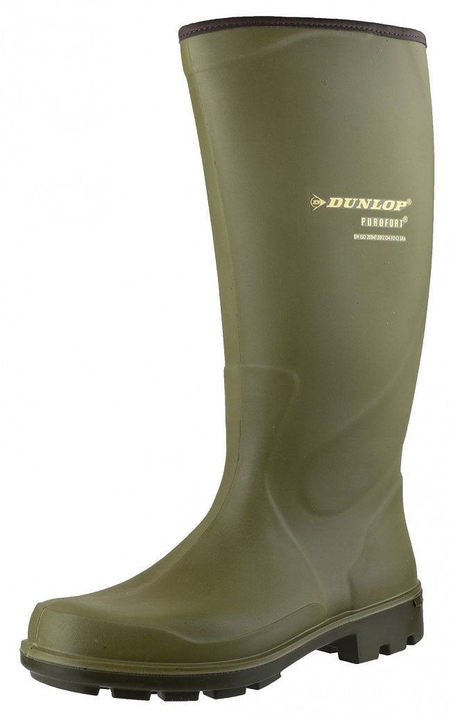 Dunlop Purofort Terroir Pro Wellington green professional wellington