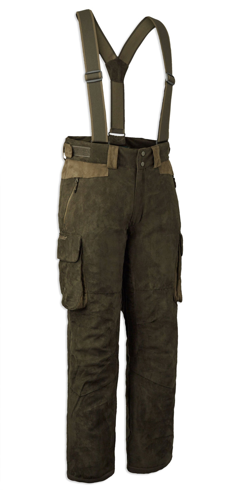 Deerhunter Deer Winter Trousers with suspenders