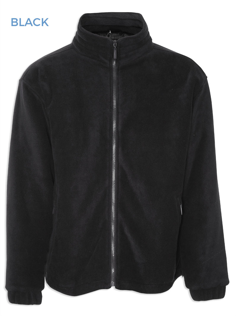 Champion Glen Lined Fleece Jacket from Champion in Black