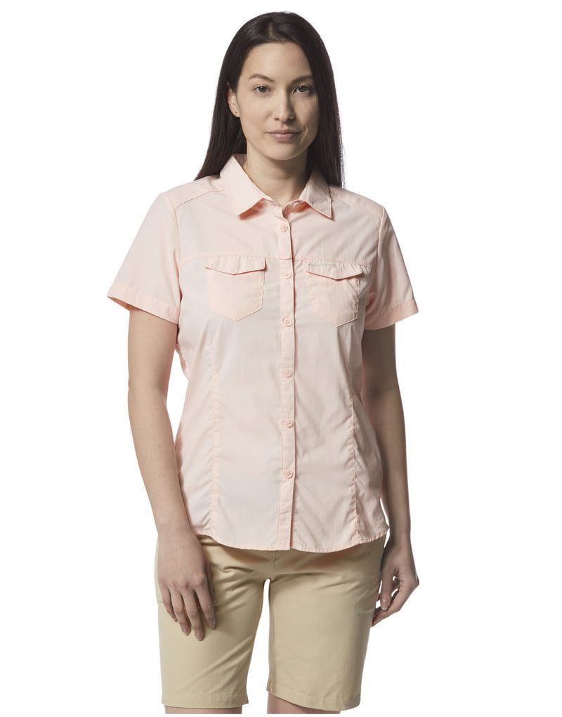 SEa Salt Ladies Adventure Short Sleeve Shirt II by Craghoppers