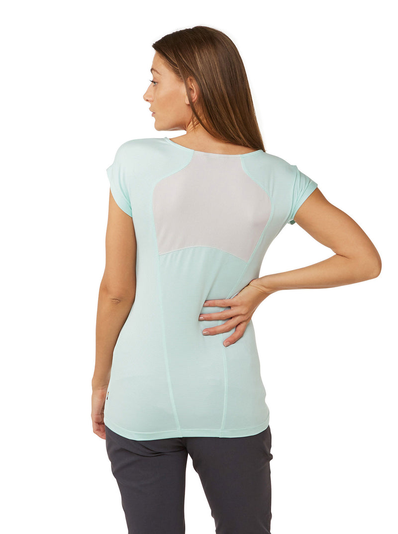 Breathable back panel Ladies Fusion Tee Shirt by Craghoppers