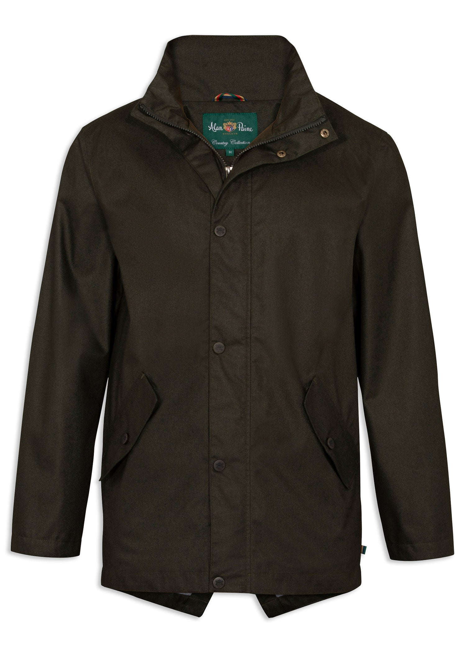 Woodland Green Alan Paine Fernley Waterproof Parka