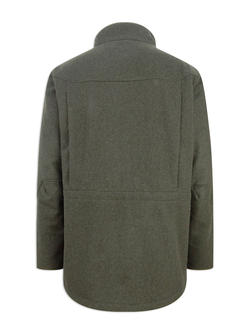 Back View Hoggs of Fife Lairg Waterproof Wool Jacket