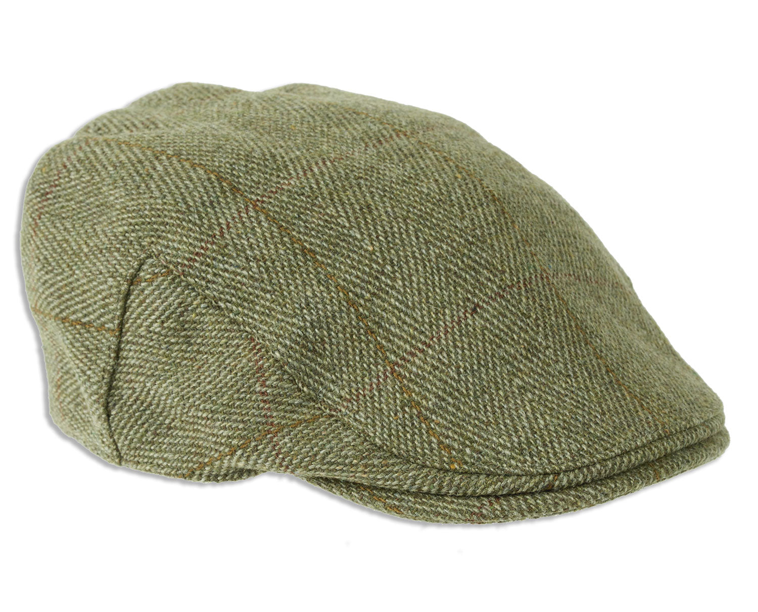 74c5cd9bb96 Heather Fox Derby Tweed Flat Cap